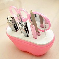 beauty nail store - New Arrival nail set for Apple type nail clippers nail scissors beauty storing tools sets