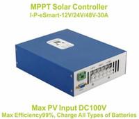 Wholesale 30A MPPT solar charge controller vV V V A PV regulator Solar Panel Battery Controller Charge Regulator