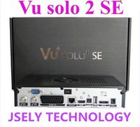Cheap VU SOLO 2 SE TV Set Top Box Twin Tuner Decoder DVB-S2 Tuner STB VU SOLO2 SE HD Linux OS Digital Satellite TV Receiver Free Shipping 1pcs