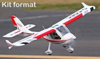 airplane kit rc - Freewing Flight design CTLS kit format EPO rc airplane trainer for beginners m Cessna