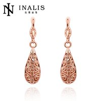 amazon europe - Europe and the United States rose gold earrings on behalf of a foreign trade are single supply drop earrings Amazon Jewelry