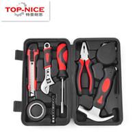 Wholesale 17Pcs set Custom Home Electrical Routine Repair Hand Tool Sets Knives Pliers Screwdriver Combination Kit Hardware Repair Tools