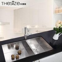 Wholesale Long term supply stainless steel double sink manual versatile mm thick stainless steel sink