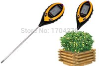 soil ph moisture meter - Hot Sale in1 Plant Soil PH Moisture Light Soil Meter Thermometer Temperature Tester TK0352
