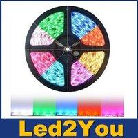 adhesive leds - 500m RGB Led Strips SMD M Leds Waterproof IP65 Led Flexible Strips Light DC V With M adhesive tape