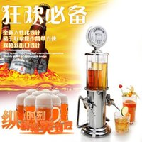 Wholesale Double Guns Beer Machine liquid Shots Gun Gas station Dispenser Beverage Machine Mini water dispenser Beer Machine