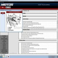 airmail service - MOTO heavy truck service v11 with Keygen auto repaire software by dvd with free airmail ship M45772