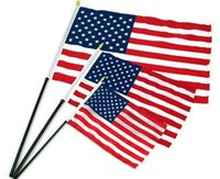 american flag pennant - Hot sale pc cm American National Flag USA Flying Flag US Pennant The United States of America Banner Patriot Flag No Flagpole
