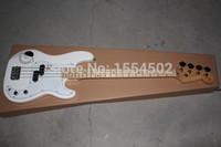 bass guitar materials - Global popular basswood material body bass electric guitar classic string NGSIUFUNG bass guiarra
