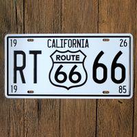 animal license plates - U S ROUTE Wall Decoration Vintage Metal License Plate Art Bar Home Restaurant Decor Metal Tin Signs