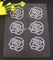 Wholesale 2mm rhinestone sticker sheet stickers for DIY decoration sheet pack sheet