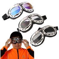 ski goggles glasses - Universal Scooter Goggles Pilot Motorcycle motorcycle glasses Ski Bike Cycling Goggle Motocross Glasses Sunglasses