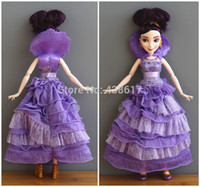 audrey doll - Rare Original Disny Princess Descendants Doll Coronation Mal Isle of the Lost amp Audrey Auradon Prep Fashion Dolls Toys for