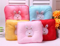 Down baby pillow pets - Cotton towels pet pillow SOFTLINE baby pillow Newborn cotton solidify Pillow Cushion with rabbit Free EMS
