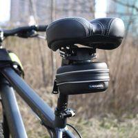 Wholesale 2015 Roswheel Waterproof Reflective Bicycle Bag Rear Cycling Bike Saddle Bag With Hanging Ring EVA Mountain Road MTB Bike Seat Pounch