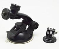 al por mayor las cámaras gopro hero3-Adaptador de trípode gp61 GoPro cámara del deporte de accesorios del coche taza de la succión de montaje largos para Go Pro HD HERO2 HERO3 Nueva DHL