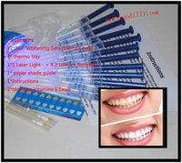 Cheap 100Packs lot 0.1%-44% 3ml Carbamide Peroxide (12Syringe) Home Use Tooth Whitener Bleaching Teeth Tooth Whitening Whitener Kit MY364