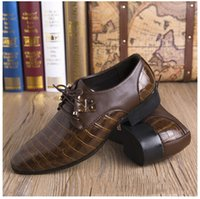 leather shoes italian men - 2015 New Fashion italian fashion men s wedding shoes pu leather business shoes Personality Party Shoes Men Dress Shoes
