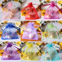bag ch - 200pcs Candy Bags yarn bags wedding festival supplies Factory cm Organza bags gift bags jewelry bags bags plain ch