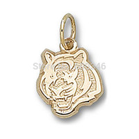 Wholesale 18K Gold Plate Louisiana State Tigers Charms National Football Team Charms