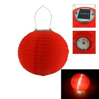solar chinese lantern - Colorful Multicolor Solar Chinese Lantern Wedding Party Outdoor Light Garden Lamp