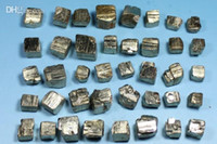 Wholesale 5mm mm sales promotion pyrite cube crystal mineral original rock specimen collection