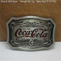 Wholesale cowboys belt buckles metal drink DIY brand luxury mens designer belt buckles Christmas gift