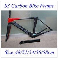cervelo s3 - 2016 Newest cervelo S3 Road Carbon Bike Frame Black Red UD Weave BBRight Full Carbon road frame cm cm