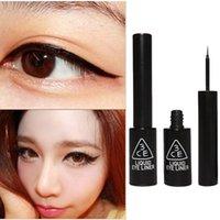 Cheap 3CE Super Slim Eyeliner Gel Black Stylenanda Waterproof Smooth Makeup Eyeliner Gel Pen 6.5ML Fast Dry Eye Stickers Eyeliner