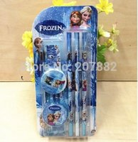 Wholesale sets Fashion Elsa Princess Stationery Set in Stationery School Set A098