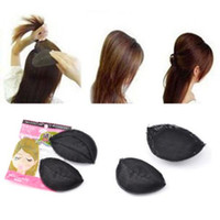 Wholesale 2014 New arrival hair ornaments tool princess style hair heighten device bulkness sponge hair maker pad free ship Christmas gift for grils