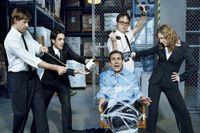 animal movie cast - The Office TV Series Comedy Cast Steve Carell Movie x24 Silk POSTER