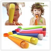 Wholesale silicone popsicle molds ice tray ice cream mold styling tools XX15