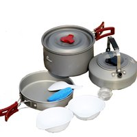Wholesale Fire Maple Outdoor Camping Cooking Cookware sets FMC Cooking pot Outdoor Camping Picnic Cookware