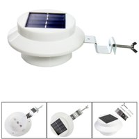 Wholesale 2015 Cool white warm whit led Solar Powered Energy Saving Outdoor Light All weather Lamp Waterproof Solar lights Garden Path wall