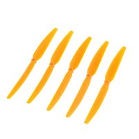 rc aircraft propeller - 5Pcs set New Spare Orange Propeller Prop for RC Airplane Aircraft Toys Part