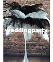 Wholesale beautiful inches cm natural fluffy mix colour ostrich feathers the central focus of feathers