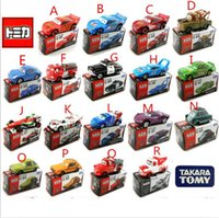 automobile trailers - 18style TOMY authentic cars Cars alloy car model automobile vehicles autos cars2 trailer cars game bk012