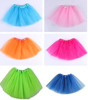 Spring / Autumn tutu Lace baby Tutu Skirt Princess Dance Party Tulle Skirt fluffy chiffon skirt girls Ballet dance wear Party costume Baby girl clothes Free shipping