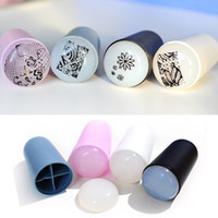 Wholesale 3cm Marshmallow Nail Art Stamper Squishy XL Stamper Jumbo Stamper Random Color