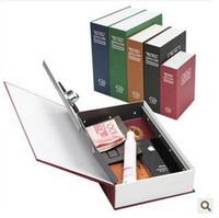 achat en gros de tirelire or-18 * 12 * 5cm cadeau créatif dictionnaire anglais Safe Tibet Gold Box Dictionnaire livre Safe Petit tirelire livraison gratuite 00907