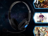 Wholesale Ps4 Headphone for PS4 Luxurious Wired Headset for Playstation Top Quality Headphones