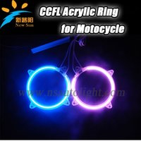 activate gps antenna - GPS Super bright mm CCFL Angel eye Acrylic rings for Motocycle Sound Activate motocycle light rings and inverter