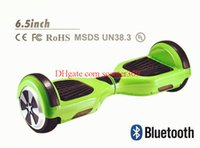 Wholesale 2016 airboard electric skateboard two wheel smart balance scooter with anti crash rubber strips and bluetooth