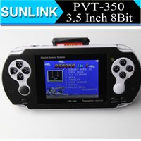 Wholesale PVT inch bit Handheld Game Player TV Out Video game players Game Console Support GBA Learning for Children
