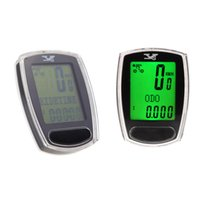 Wholesale Waterproof Multifunction Mountain Road Bike Bicycle Cycling Computer Odometer Speedometer LCD Digital Backlight Backlit