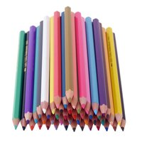 Wholesale Water soluble Colored Pencils for Drawing Great Art Supplies Non toxic Color Lead for Watercolor Painting Artist Coloring