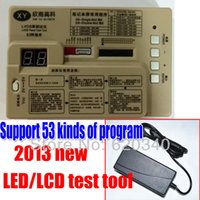 Wholesale Upgraded version of kinds of program in1 TV LCD LED TEST TOOL High voltage tester All lit LED LCD LED screen Screen Tester order lt no