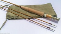 fly rod - New split bamboo fly rod feet for line wt piece with tips