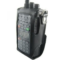 Wholesale Walkie talkie case Leather waterproof case for Wouxun KG UVD1P KG E KG KG KG UVD1P radio New waterproof bag